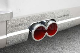 Stainless Steel Mirrored 8 Exhaust - Compatible With All Models of Trucks
