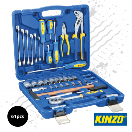 Kinzo 56pc Tool Set in Hard Case