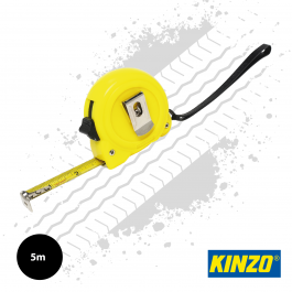Kinzo 5m Retractable Tape Measure (19mm Wide)