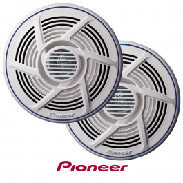 Pioneer 16cm Dual Cone Truck Outside Speakers Marine Grade 100 Watt - Pair