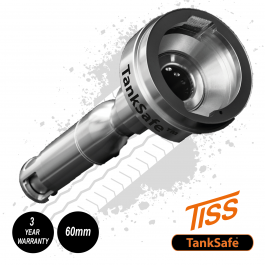 TISS TankSafe Optimum, Fuel Anti-Siphon Device. For most Makes of Truck - 80mm Filler Neck.