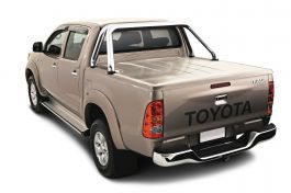 Aluminium Side Steps for Toyota Hilux 2005 -