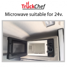 Microwave to suit Renault T Range High Roof Cab.