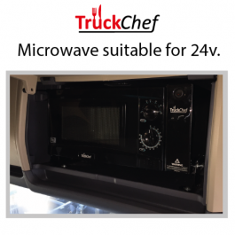 Microwave to suit Scania Highline (All Series)