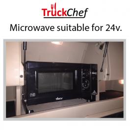 Microwave to suit Scania Topline