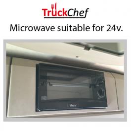 Microwave to suit Mercedes Actros 4 (2012-) BigSpace