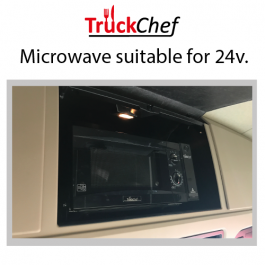 Microwave to suit Mercedes Actros 4 (2012-) GigaSpace