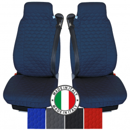Pair Of The Best Professional Premium Universal Quilted Cotton Cargo Seat Covers - Choice Of Colours