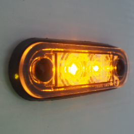 Ultra LED Side Marker Bar And Body Gasket Included - AMBER