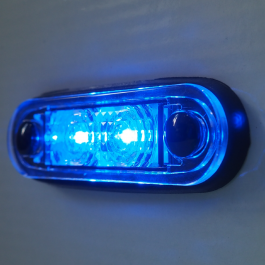 Ultra LED Side Marker Bar And Body Gasket Included - BLUE