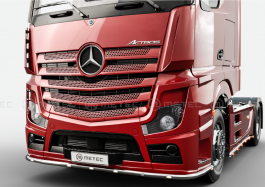 Mercedes Actros 4 and 5. Under Bumper Bar. 2011 to Late 2016. Pre-Wired. With White and Amber LED's.