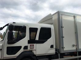 Renault D Range Crew Cab Adjustable Top Spoiler