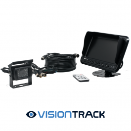 VisionTrack 7-Inch Monitor Reversing Camera Kit with Night Vision. 1 Year Warranty