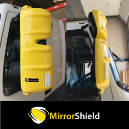 Volvo FE / FL 2007 Onwards (Euro 5 and 6) MirrorShield - Super Strong Mirror Guard / Protector (Pair)