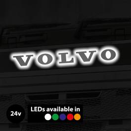 Backlit, LED Front Name Badge Upgrade suitable for Volvo Trucks, 24v