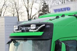 Volvo FH (2013 on) Globetrotter and XL Eyebrow Light Bars (Pair)