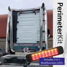Perimeter Kit to suit Volvo FH 4 Globetrotter XL Cab complete with 3 in 1 Multifunction LED's