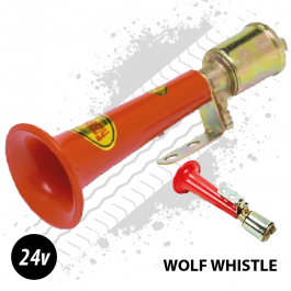 Wolf Whistle Horn, High Pitched Turkey Air Horn, 24v