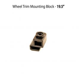 """Wheel Trim Mounting Block - 19.5"""" Trims"""