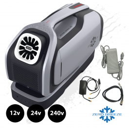 Zero Breeze Mark 2 Plus, Battery Powered, Air Conditioner. 12v/24v/240v, UK / EU - PRE-ORDER, NOVEMBER DELIVERY