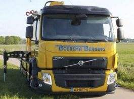 Suitable for Volvo FE 2014 - Front Name Board