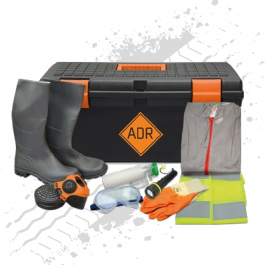 ADR Kit. Complete in Toolbox. EN 471.