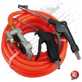 Air Duster Gun Set for Trucks, 10m, 300psi, Red