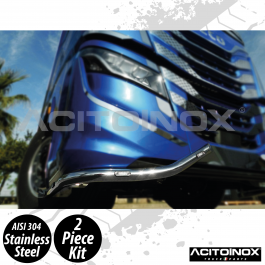 Iveco S-Way Bottom Bumper Bar In Stainless Steel (AISI 304)