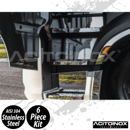Iveco S-Way Cabin Steps In Stainless Steel (AISI 304)