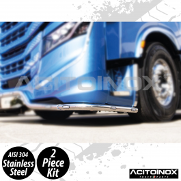 Iveco S-Way Corner Bumper Bar In Stainless Steel (AISI 304)