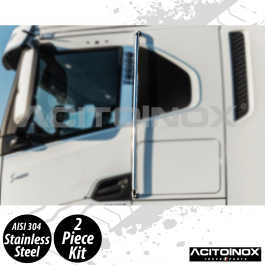 Iveco S-Way Pair Of Door Bars In Stainless Steel (AISI 304)