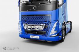 Volvo FH5 Front Tailor Grill Bar with LED's (Pre-Wired for 4 Spotlights)