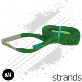 6 Metre Strap - Green
