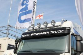Iveco Stralis Cube and Hi-Way AS Roof Light Bar. 2002 onwards. With 4 Lamp Fixings.