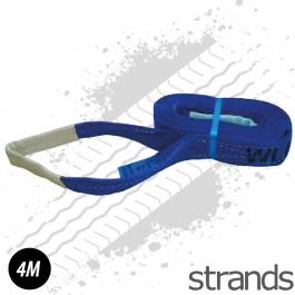 4 Metre Strap - Light Blue