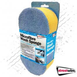Microfibre Wash Reusable Sponge - Effortless Washing