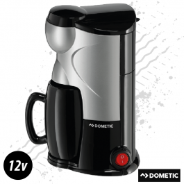 Dometic 12 Volt Coffee Maker For One 150ml 170 Watt Plug And Play - Includes Mug