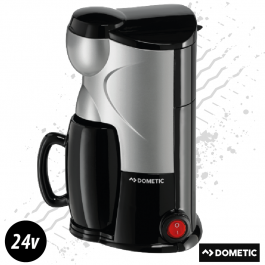 Dometic 24 Volt Coffee Maker For One 150ml 170 Watt Plug And Play - Includes Mug