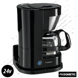Dometic 24 Volt 5 Cup Coffee Maker 300 Watt Plug And Play - Includes Glass Pot And Warming Plate