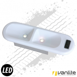 Renault & Vauxhall 6 Watt LED Interior Light Direct Plug & Play Replacement