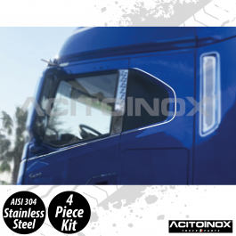 Iveco S-Way Side Door Window Profile In Stainless Steel (AISI 304) Kit