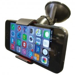Universal Suction Mount Gadget Holder - For Gadgets Up To 90mm