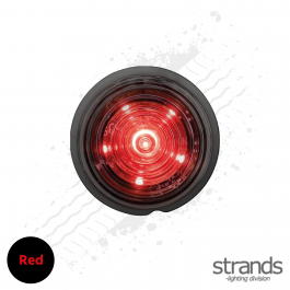 Strands Dark Knight Viking Position Light (Red) 12/24v