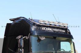 Volvo FH4 FH 13- Globetrotter XL Roof Lamp Holder - Includes 17 LED Marker Lights