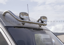VW Crafter (07-16) - Frontbar Lamp Holder For Roof - With Cables and Clamps