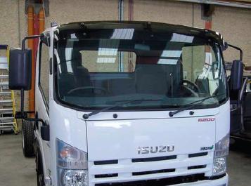 Isuzu Sun Visors, Truck Sunvisors, Van Sunvisors, Made from High Quality Acrylic.