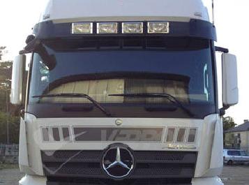 Mercedes Sun Visors, Truck Sunvisors, Van Sunvisors, Made from High Quality Acrylic.