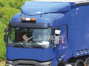 Renault Sun Visors, Truck Sunvisors, Van Sunvisors, Made from High Quality Acrylic.