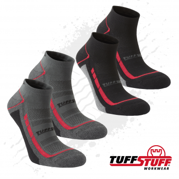 TuffStuff Footwear and Socks, quality range of safety trainers and socks.