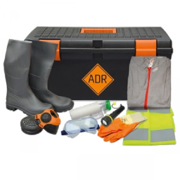 ADR Spill Kits, Rubber Gloves, Torch, HSE Approved, ADR Specification